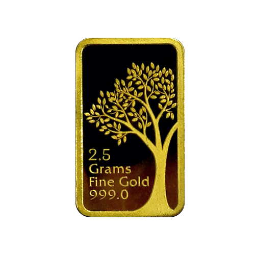 2.5 Grams 999 Gold Bar