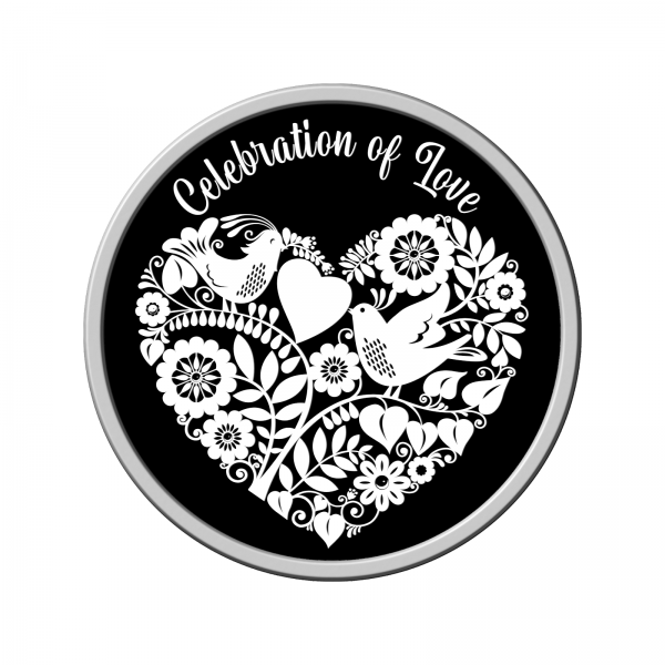 Celebration of Love Silver Coin